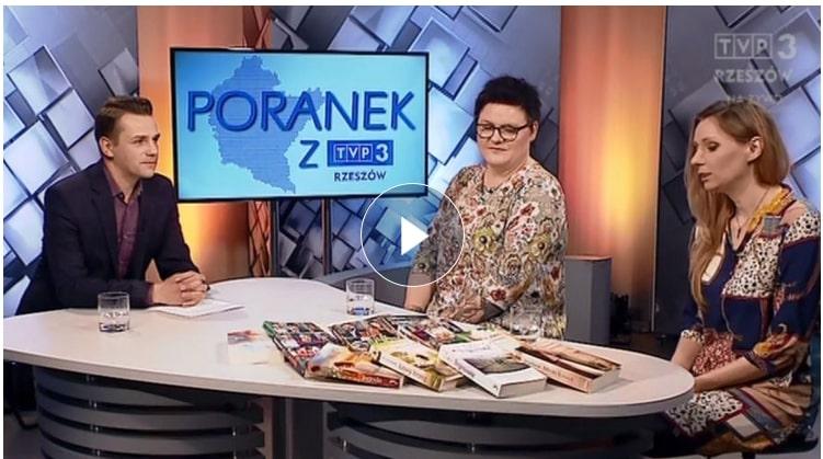 Fot. Poranek z TVP3 Rzeszów, 14.05.2019 (screen)